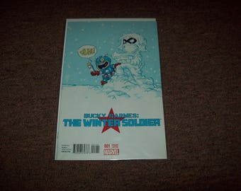 Marvel Comics Bucky Barnes Winter Soldier #1 Skottie Young Variant Captain America