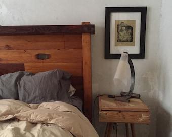 Rustic Reclaimed Queen bed frame