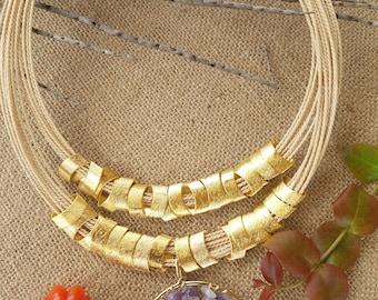 Buriti Necklace - tree of life