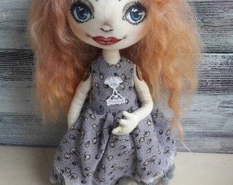 Dolls, handmadedolls, textiledolls