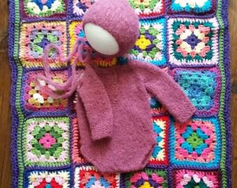 Crochet blankets/handmade layering bkanket/crochet squares blanket/bump blanket/photography blanket/granny squares baby blanket