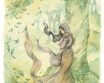 The passing of Arwen - Facsimile print