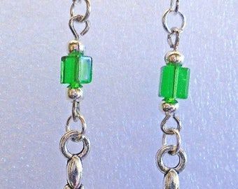 Earrings Crystal/Glass- Custom Made in the USA with Free Shipping
