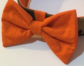SALE!!! Orange Bow Tie