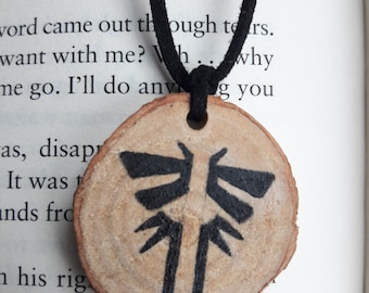 The Last of Us Inspired Firefly Necklace
