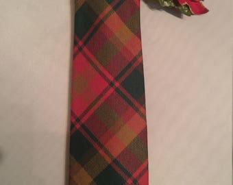 Classic Lochcarron Wool Tartan Plaid Tie