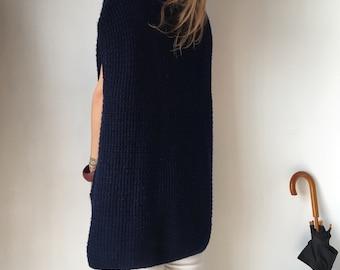 Vintage  Vest.Oversize Vest.Vintage Wool.