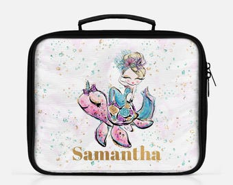 Personalized Mermaid Lunch Box Mermaid Lunch Bag Back To School Lunch Tote School Lunch Box Personalized Lunch Insulated Lunch Bag Girls