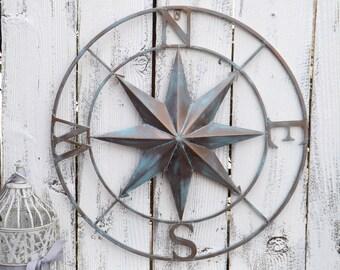 Compass Rose,Nautical Compass,Wall Decor,Wedding Gift