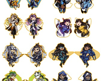 Overwatch Charms