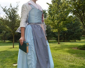 Belle's Apron; Belle 2017; Beauty and the Beast; Tail as Old as Time; Apron; Smock; Disney Cosplay