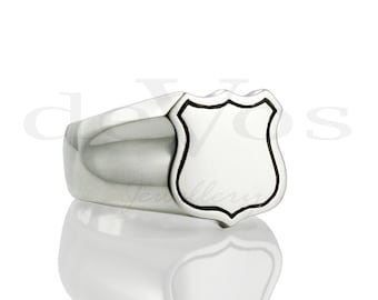 Signet (Shield) Ring 4