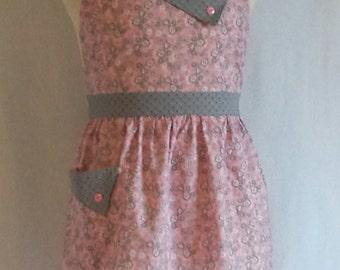 Aprons - Retro Vintage Style Apron - Women's Full Apron