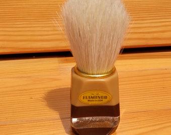vintage shaving brush FLAMINGO