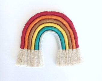 Montessori multicolor Rainbow Tapestry