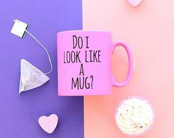 Do I Look Like A Mug, Mug, Comedy Mug, Secret Santa, Coffee Cup, Tea Mug, Small Gift, Printed Mug, Tea Break, Ceramic Mug, Kitchenware