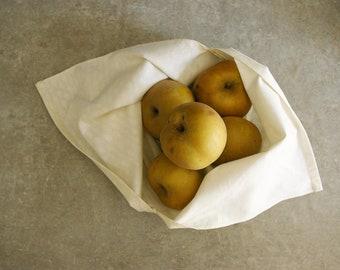 Bag Bento / lunch - Azuma Fukuro bag - bag striped - to store and carry - old cotton