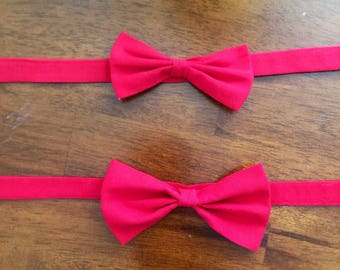 Bow tie for little boys.