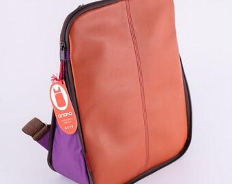 Hikari ultralight leather  backpack