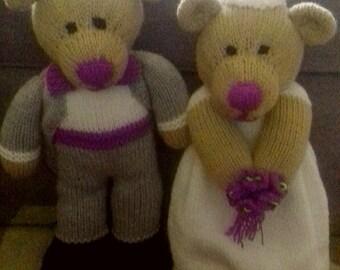 Bride & Groom Teddies