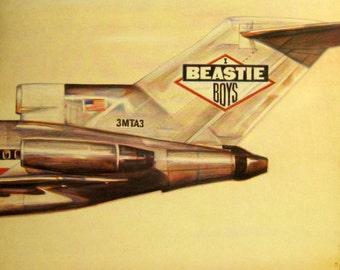 Rare Original '86 BEASTIE BOYS License To Ill Def Jam Records European Vinyl Press Record Album Lp! MINT !!! L@@K!  Early Hip Hop Classic !!