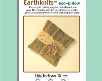 Earth-knits / eco-pillow pattern