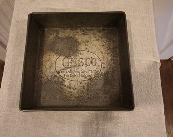 Crisco Square Baking Pan