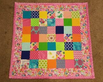 Girl's Baby Blanket