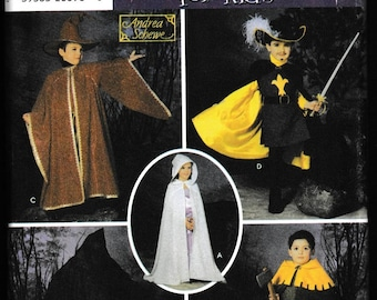 Simplicity 5512 Children's Costumes Capes, Tabard, Hats, Andres Schewe, Wrights