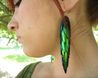 Extra Long Mermaid Tail - Egyptian Beetle Wings