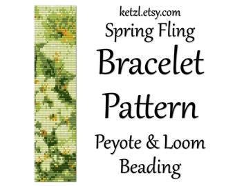 Peyote Bracelet patterns loom bead patterns loom beading patterns peyote stitch pattern flowers