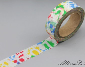 Washi Tape - Masking Tape - Japanese Washi - Deco Tape - Gift Wrap - Filofax - MT038
