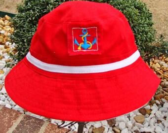 Infant Sailor Cap  -  Sun Hat