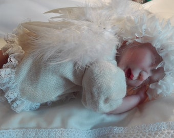 Reborn-Baby Angel, Elf, Ooak