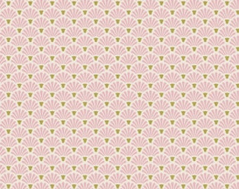 Tilda Apple Bloom Flower Fan Pink (Half metre)