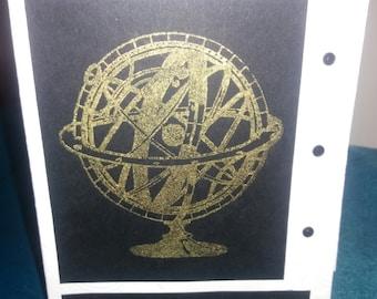 Handmade Chronology Card Ideal Men Boys Graduation Birthday etc