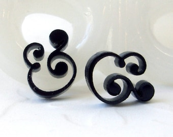 Epershand Ampersand Ohrstecker