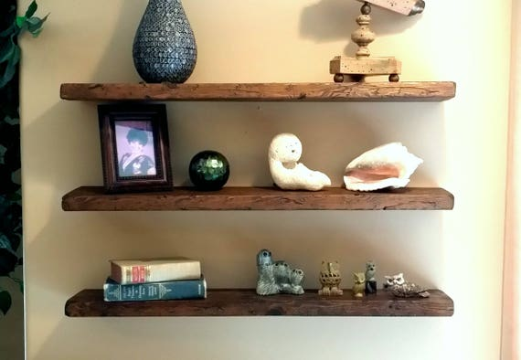 Any Length Floating Shelves Reclaimed Wood Floating Shelf