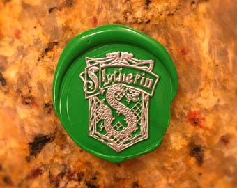 Slytherin Wax Seal Magnet - LIMITED EDITION