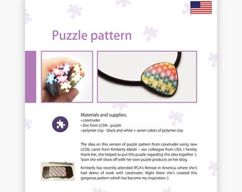 Puzzle pattern - Czextruder guide by Lucy [EN]