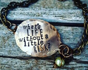 Sirius Black quote, Harry Potter bracelet; Inspirational