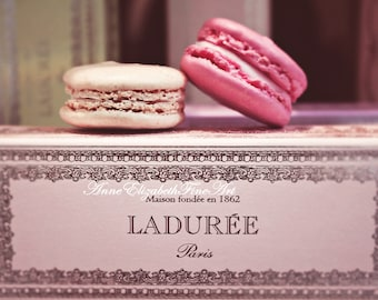 Macarons,Macaroons,Laduree,Photograph,Romantic,Food Photography, Paris Kitchen,Pastel,Pink,Sweets,Bakery,Pastry,Dreamy,Nursery,Dorm Decor