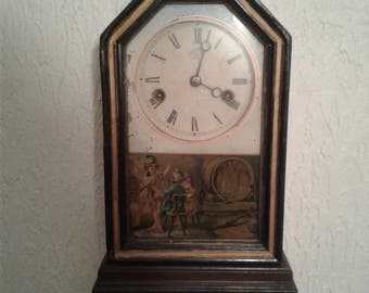 Antique Junghans Wall Clock