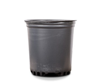 1 GALLON PLASTIC POTS: 25 Count