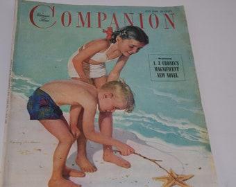 Vintage July 1949 Woman's Home Companion Magazine