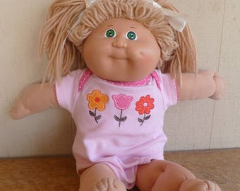 Cabbage Patch Kids Doll 1982 Blond Hair