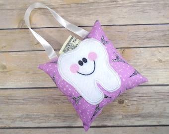 Pink Paris Pillow - Paris Pillow - Kids Pillow - Tooth Pillow - Lost Tooth - Tooth Fairy Pillow - Tooth Fairy - Tooth Fairy Gift - Paris