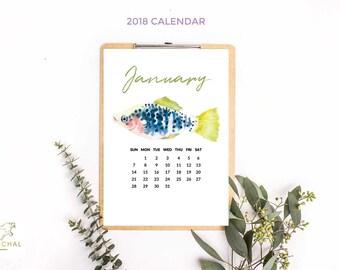 2018 Digital Calendar