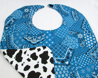 Special Needs Reversible Needs Bib for Older Child or Adult