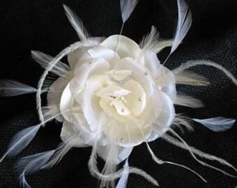 Silk Satin organza rose